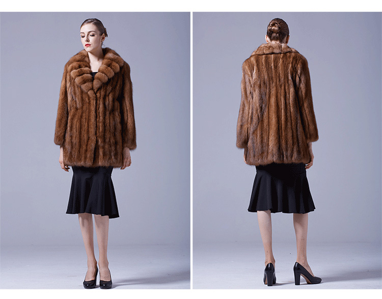 Sable Fur Coat 056 Details 5