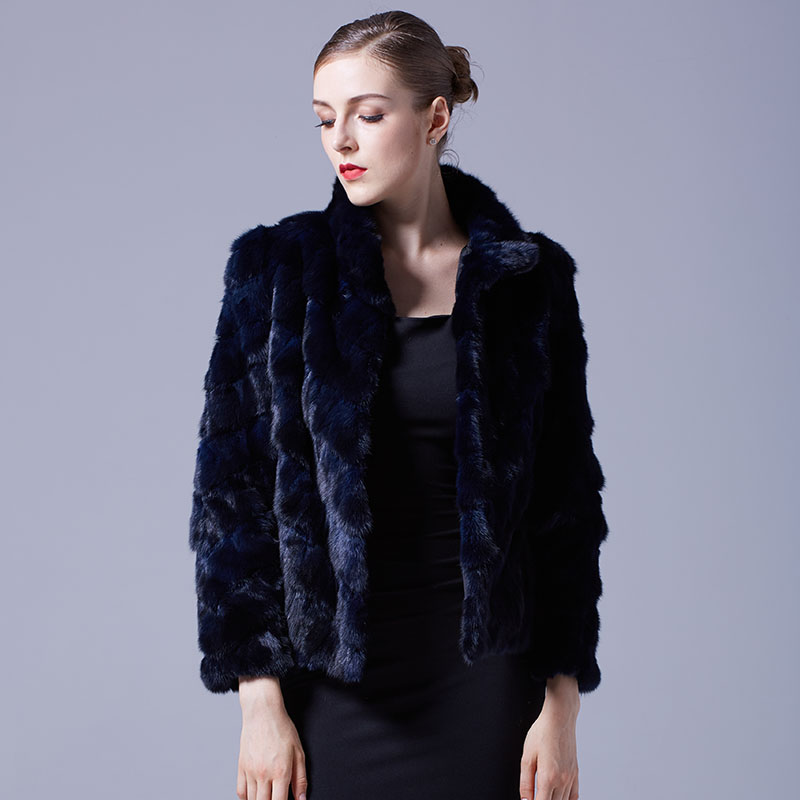 Cropped Sable Fur Jacket 068 Details 1