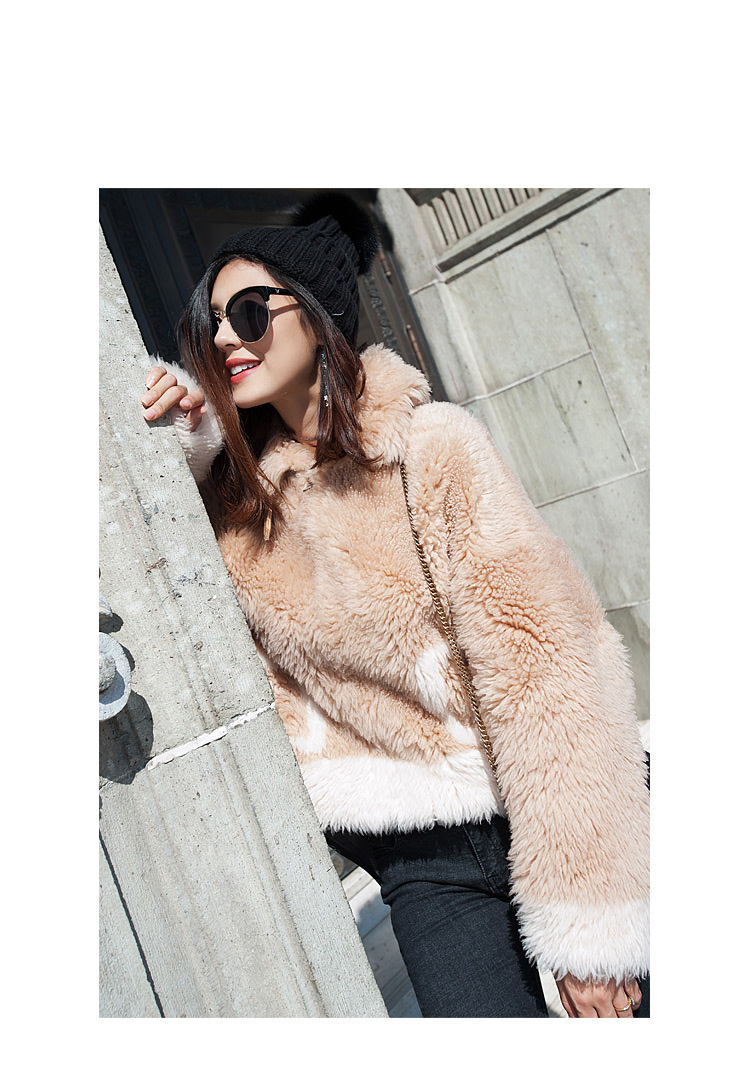 Merino Shearling Sheep Fur Jacket 109 Details 1