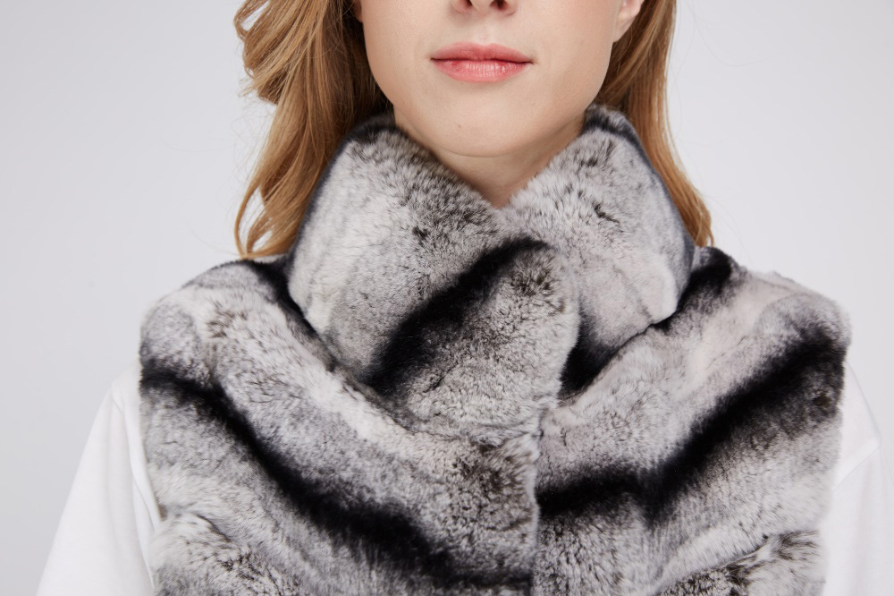 Rex Rabbit Fur Vest 217 Details 2