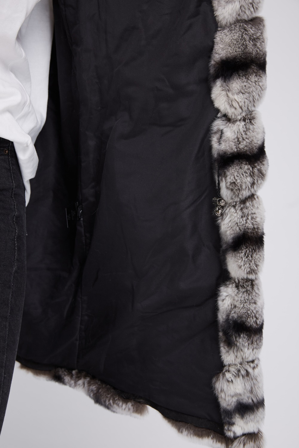 Rex Rabbit Fur Vest 217 Details 6