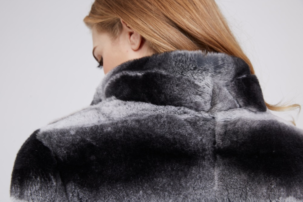 Rex Rabbit Fur Coat 219 Details 2