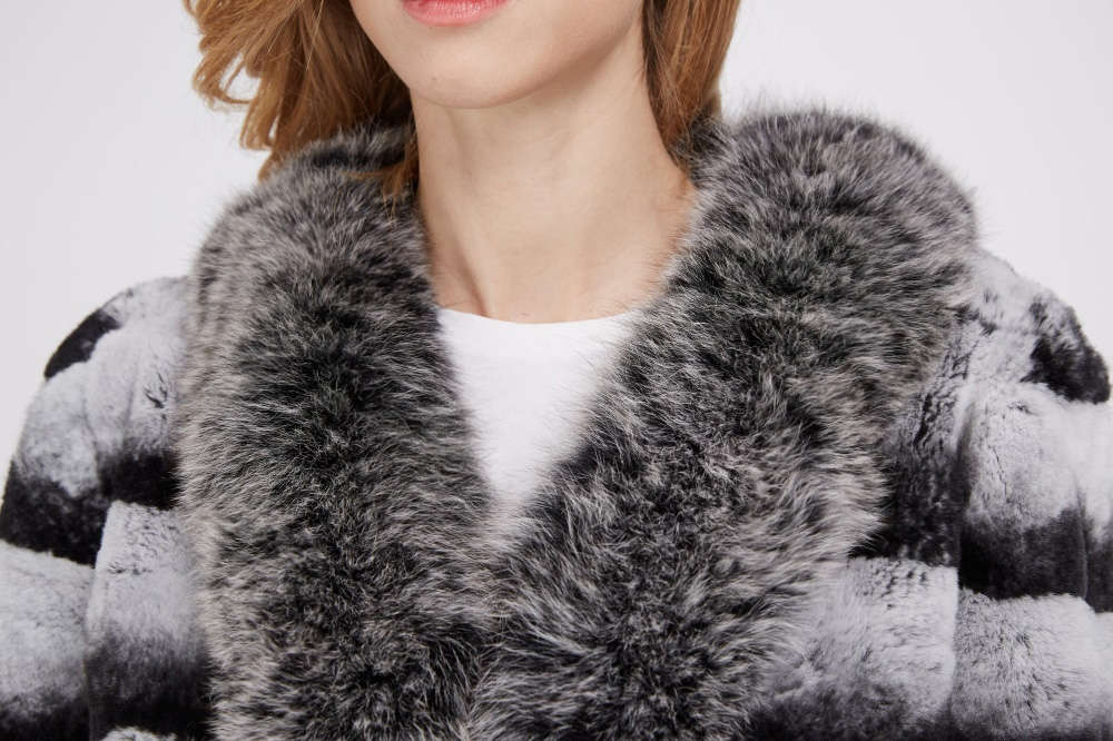 Rex Rabbit Fur Jacket 227 Details 1
