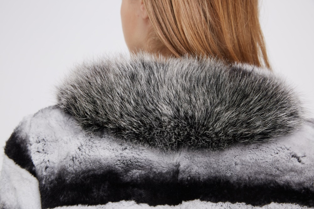 Rex Rabbit Fur Jacket 227 Details 2