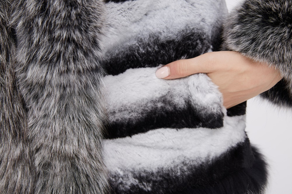 Rex Rabbit Fur Jacket 227 Details 3