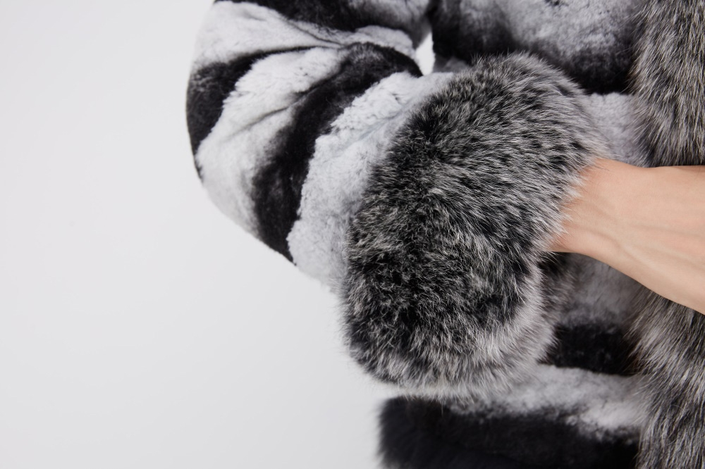 Rex Rabbit Fur Jacket 227 Details 4