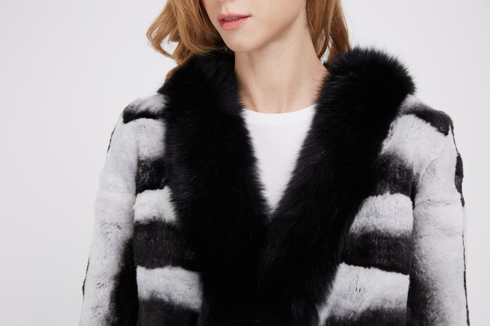 Rex Rabbit Fur Coat 228 Details 1