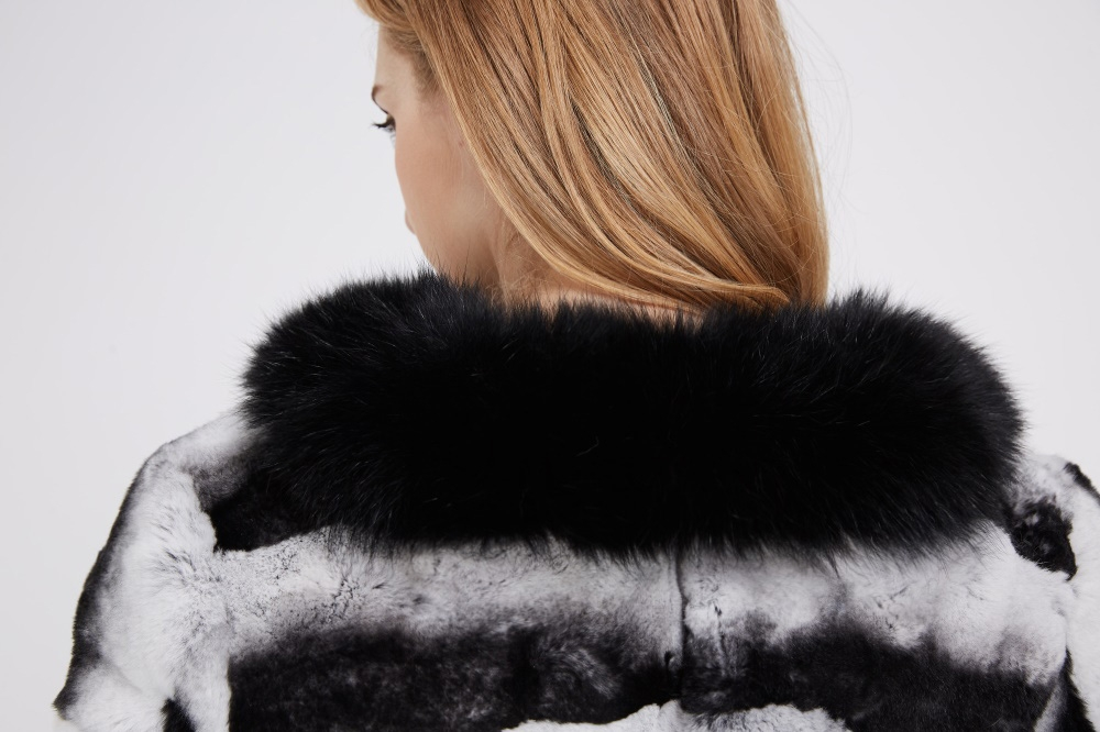 Rex Rabbit Fur Coat 228 Details 2