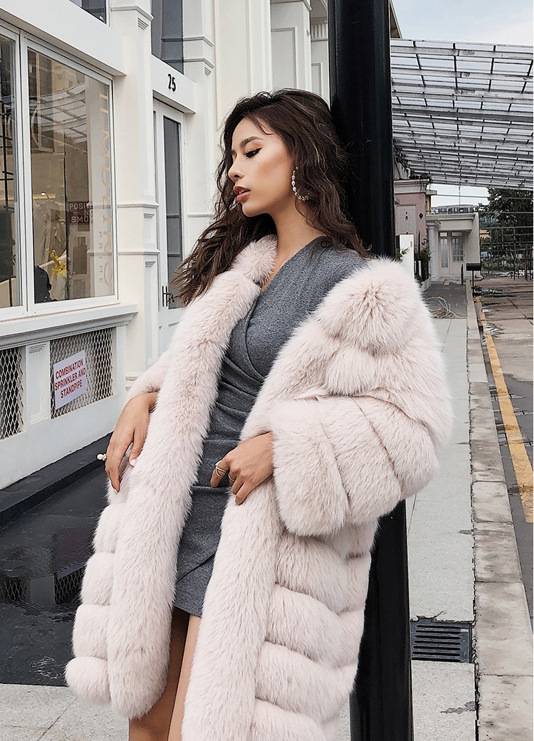 Fox Fur Coat 266 Details 11