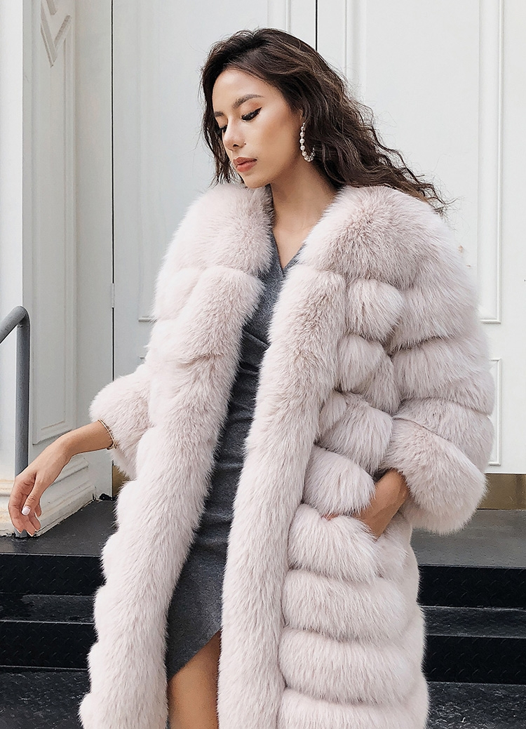 Fox Fur Coat 266 Details 3