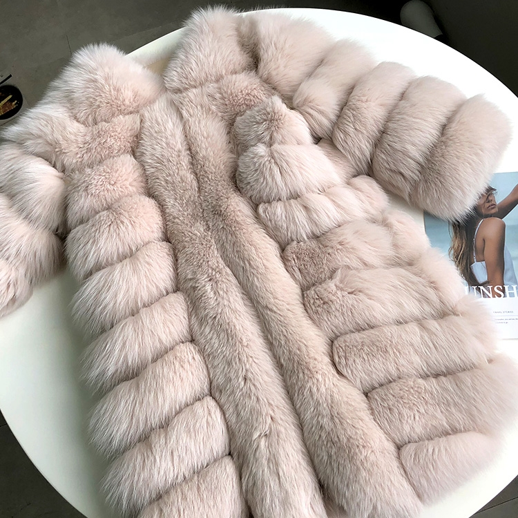 Fox Fur Coat 266 Details 4