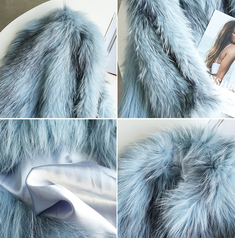 Cropped Knitted Fox Fur Jacket 275 Details 2