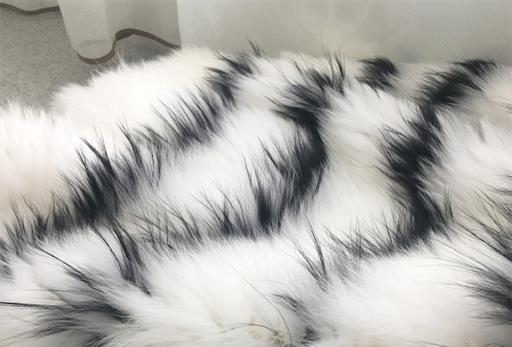 Knitted Fox Fur Jacket 316-4