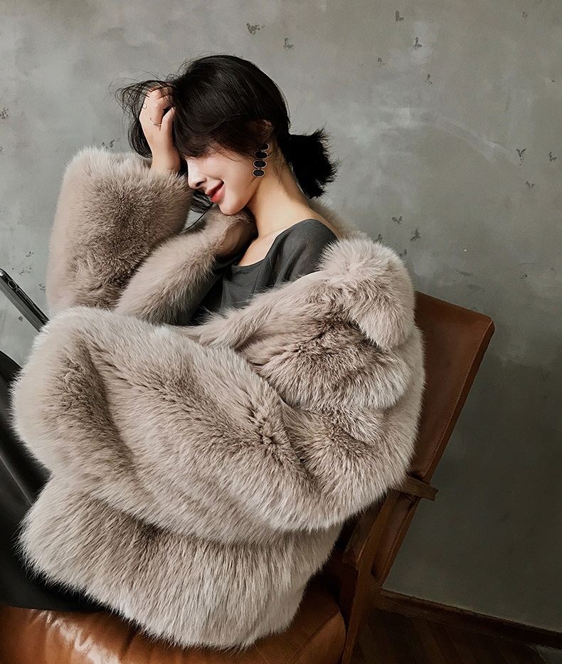 Fox Fur Jacket 321-1