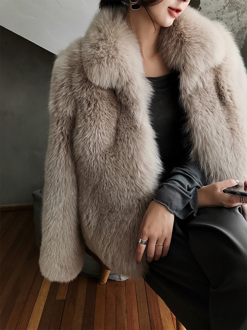 Fox Fur Jacket 321-4
