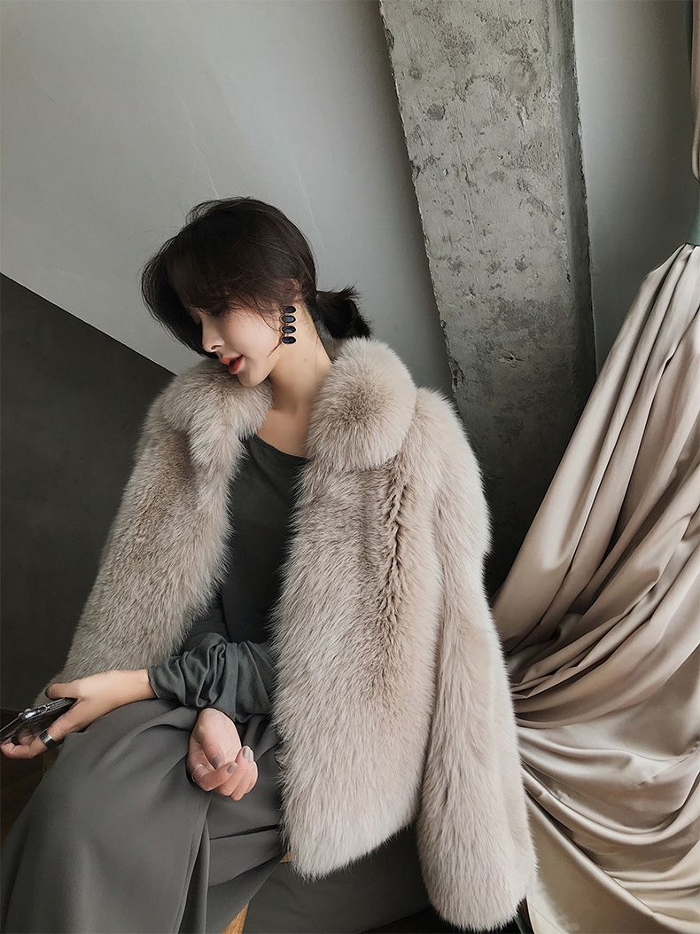 Fox Fur Jacket 321-5