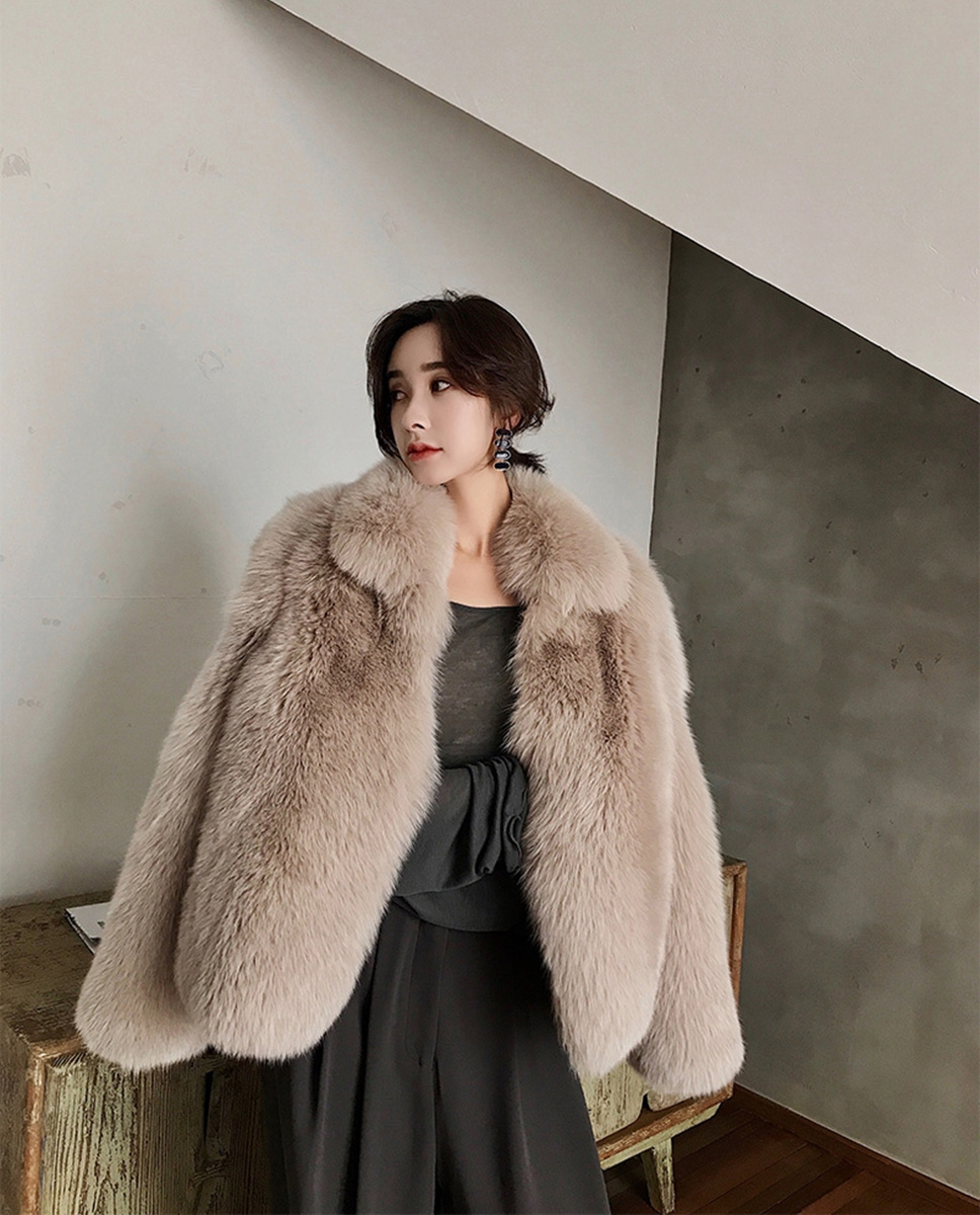 Fox Fur Jacket 321-6
