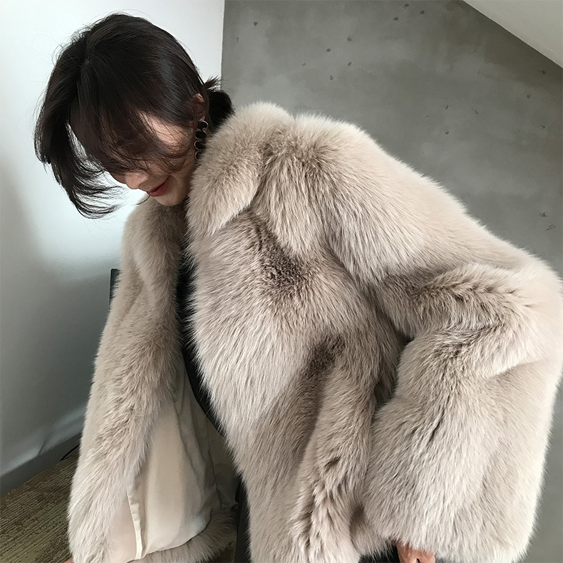 Fox Fur Jacket 321-7