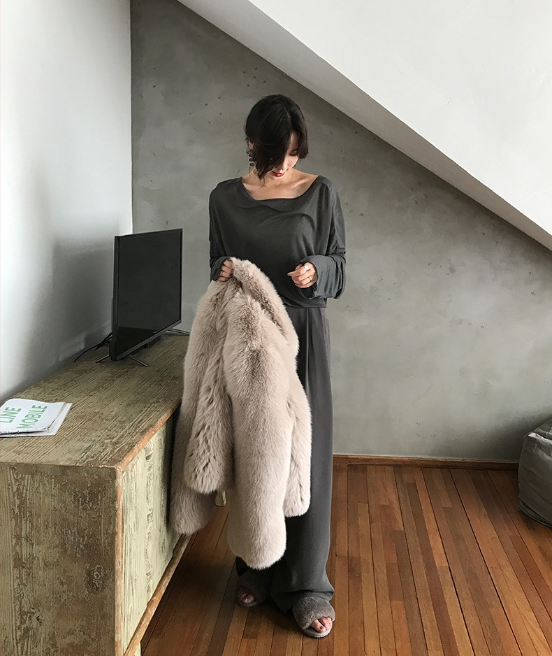 Fox Fur Jacket 321-8
