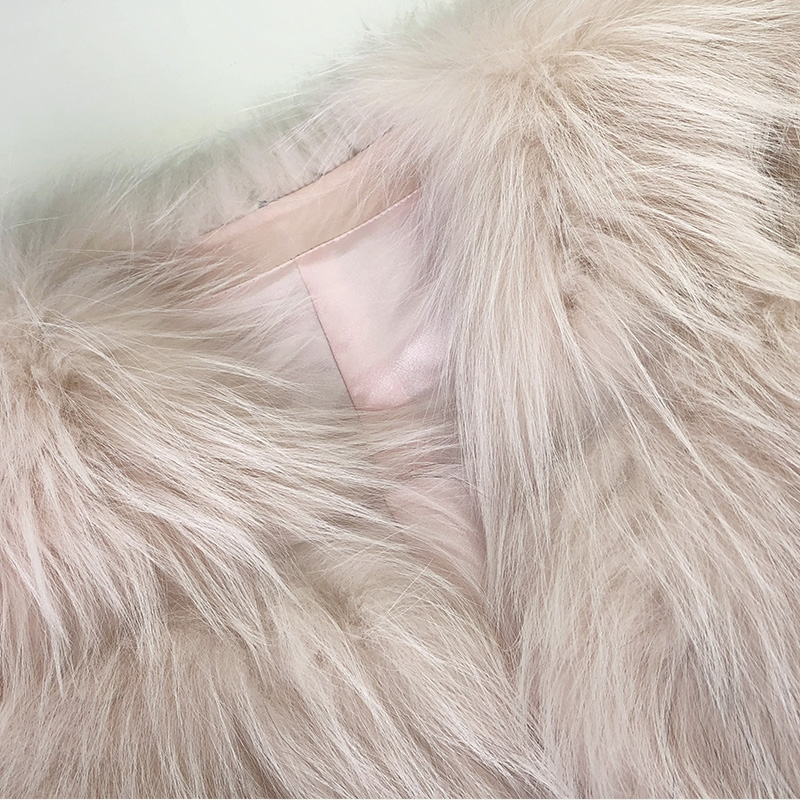 Arctic Marble Fox Fur Jacket 328-5