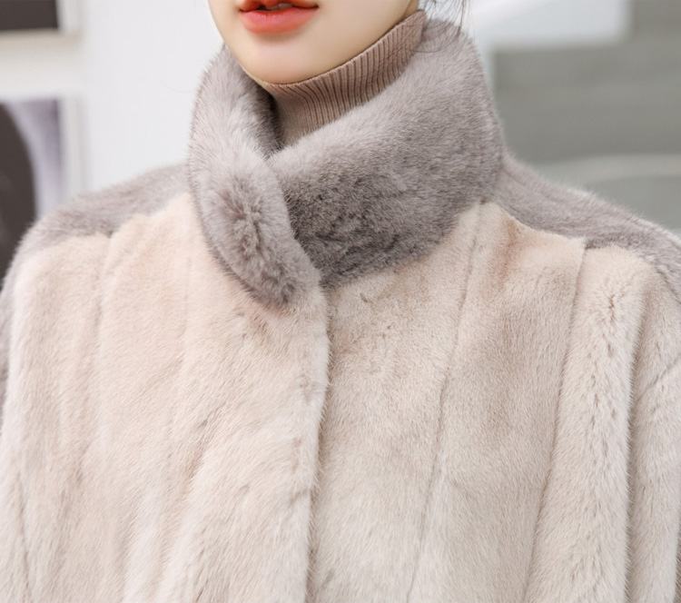 Mink Fur Cape 345-3