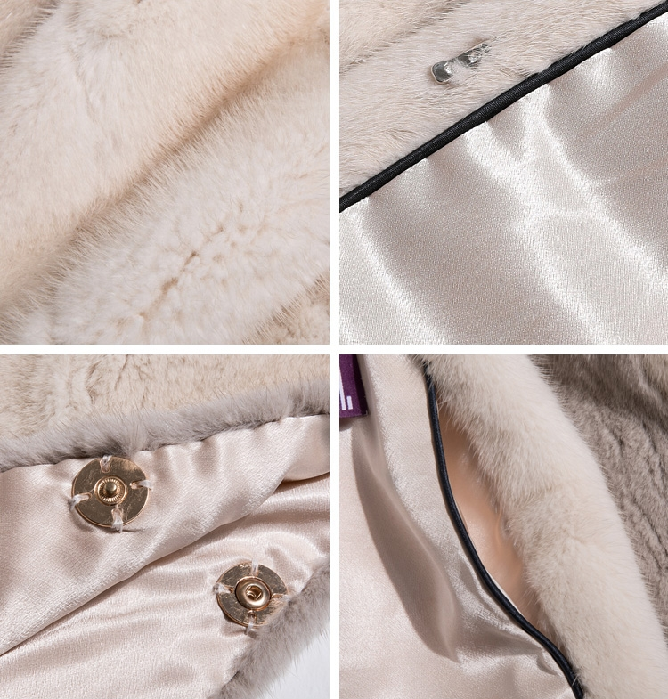 Mink Fur Cape 345-5