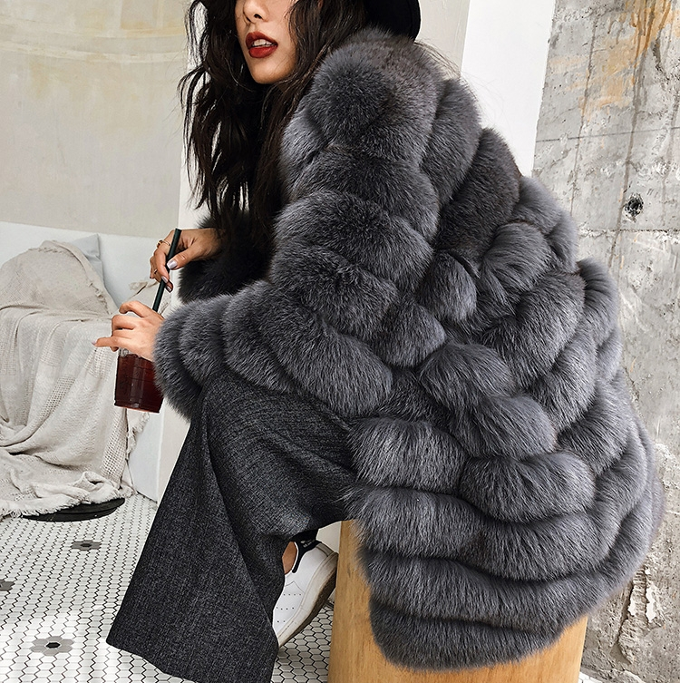 Fox Fur Coat 353-3