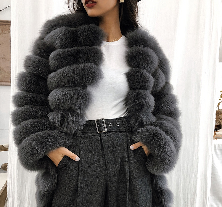 Fox Fur Coat 353-4