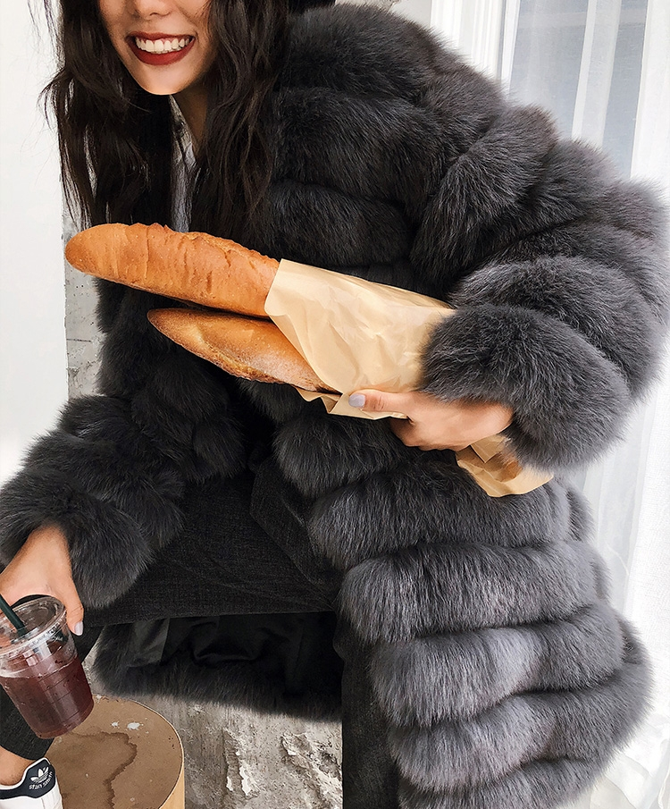 Fox Fur Coat 353-5