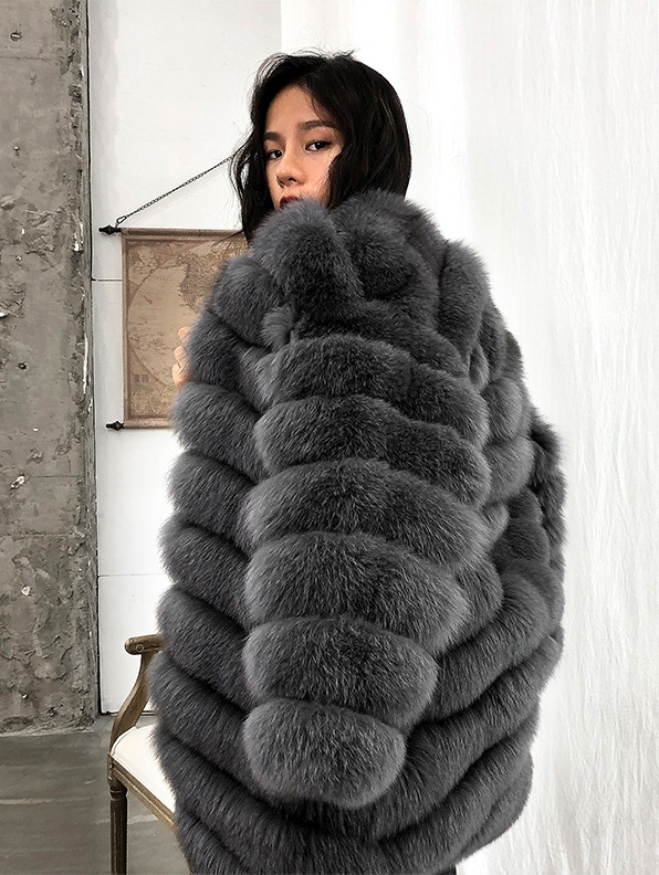 Fox Fur Coat 353-7