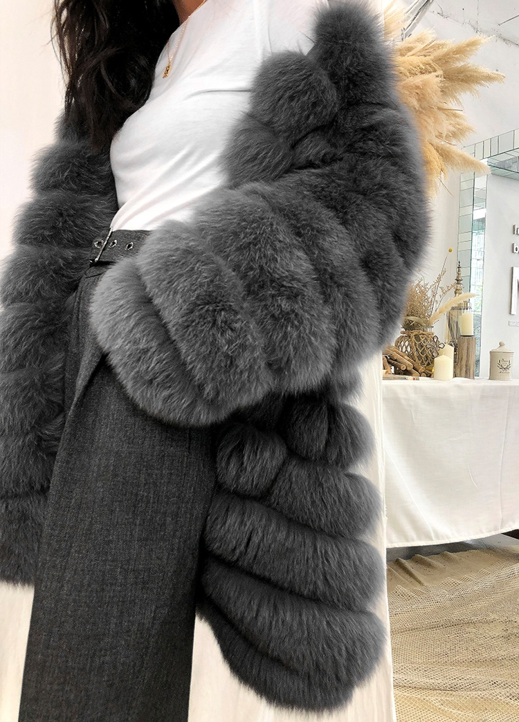 Fox Fur Coat 353-8