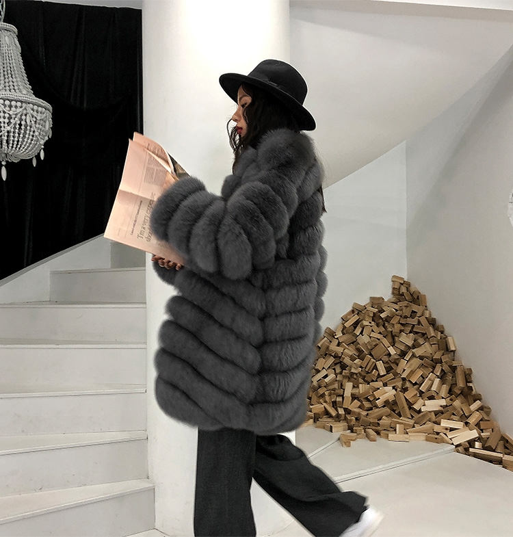 Fox Fur Coat 353-9