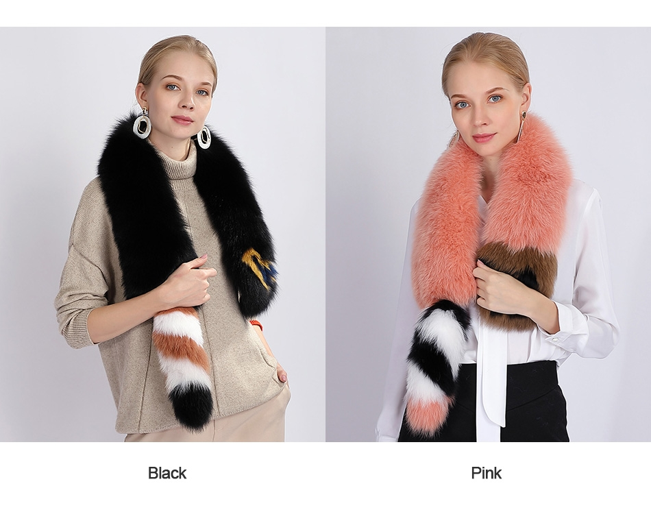 Fox Fur Scarf 364-1