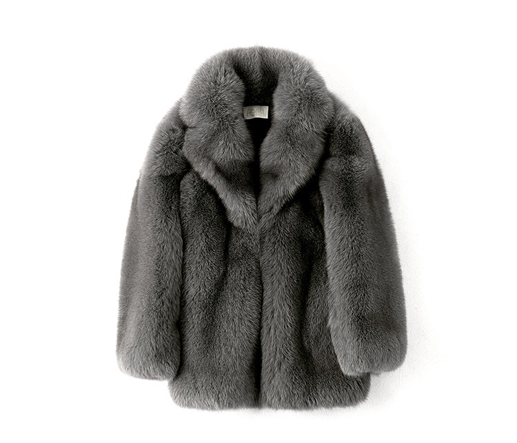 Men's Fox Fur Coat 379-1