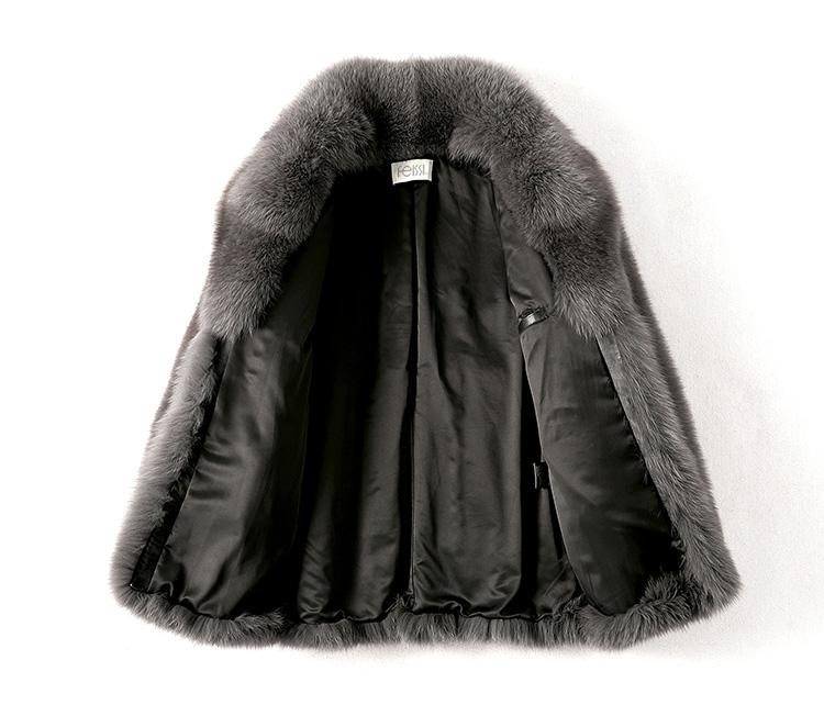 Men's Fox Fur Coat 379-2