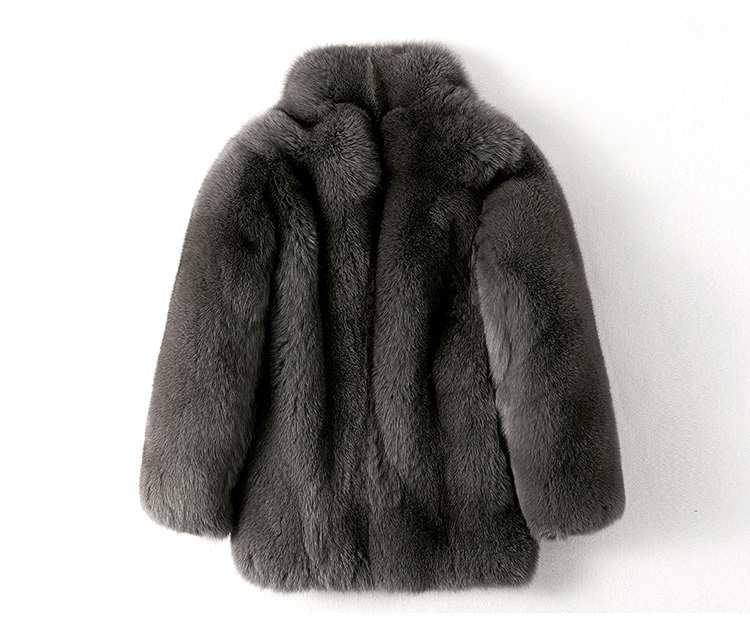 Men's Fox Fur Coat 379-3