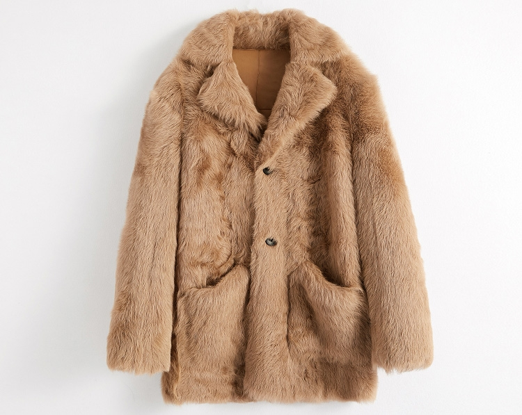 Men's Toscany Lamb Fur Coat 390-1