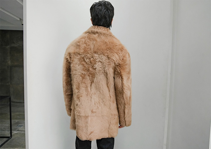 Men's Toscany Lamb Fur Coat 390-8