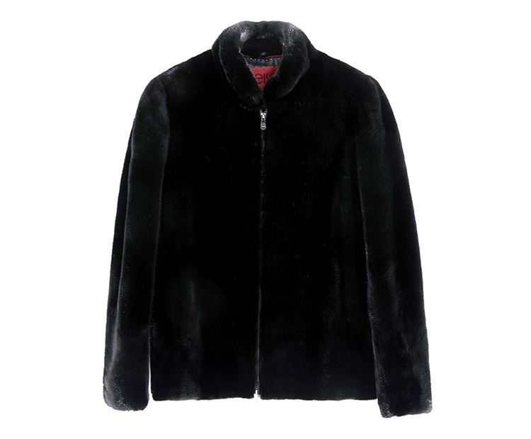 Men's Mink Fur Jacket 391-1