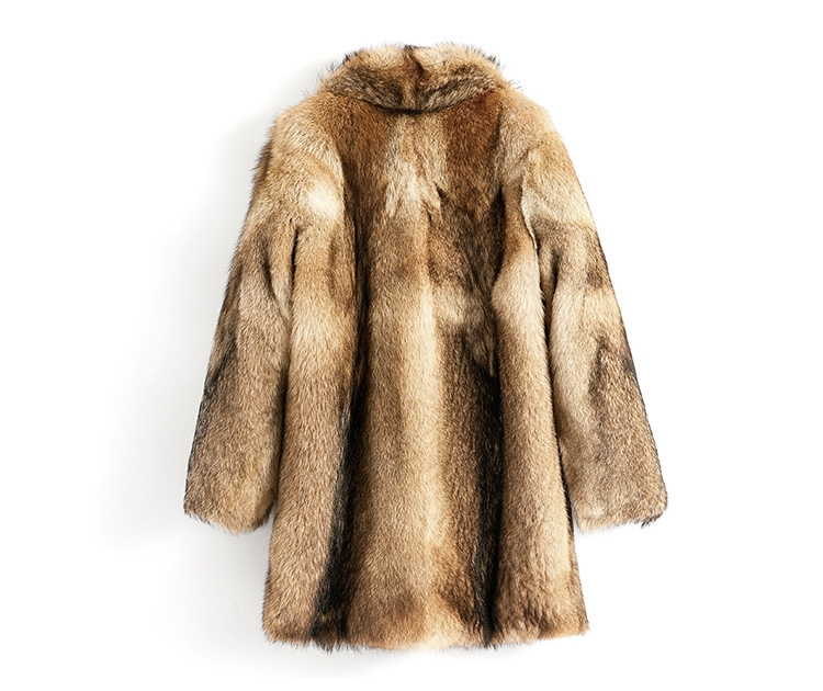 Men's Coyote Fur Coat 392-3