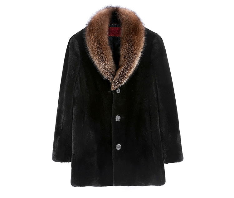 Men's Mink Fur Coat 394-1