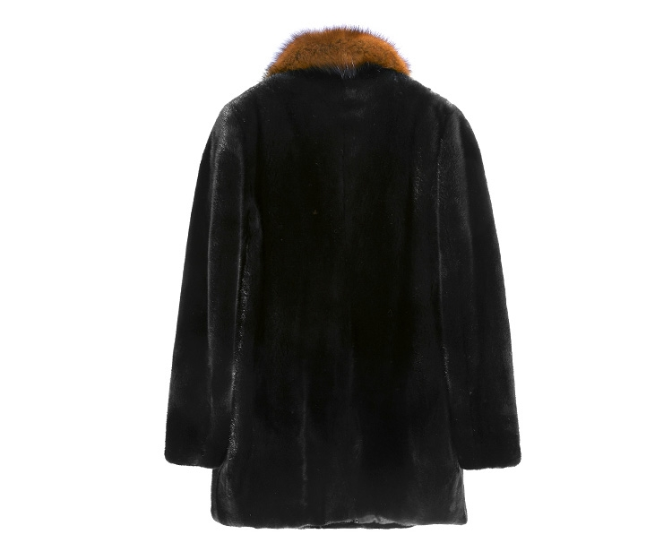 Men's Mink Fur Coat 394-3