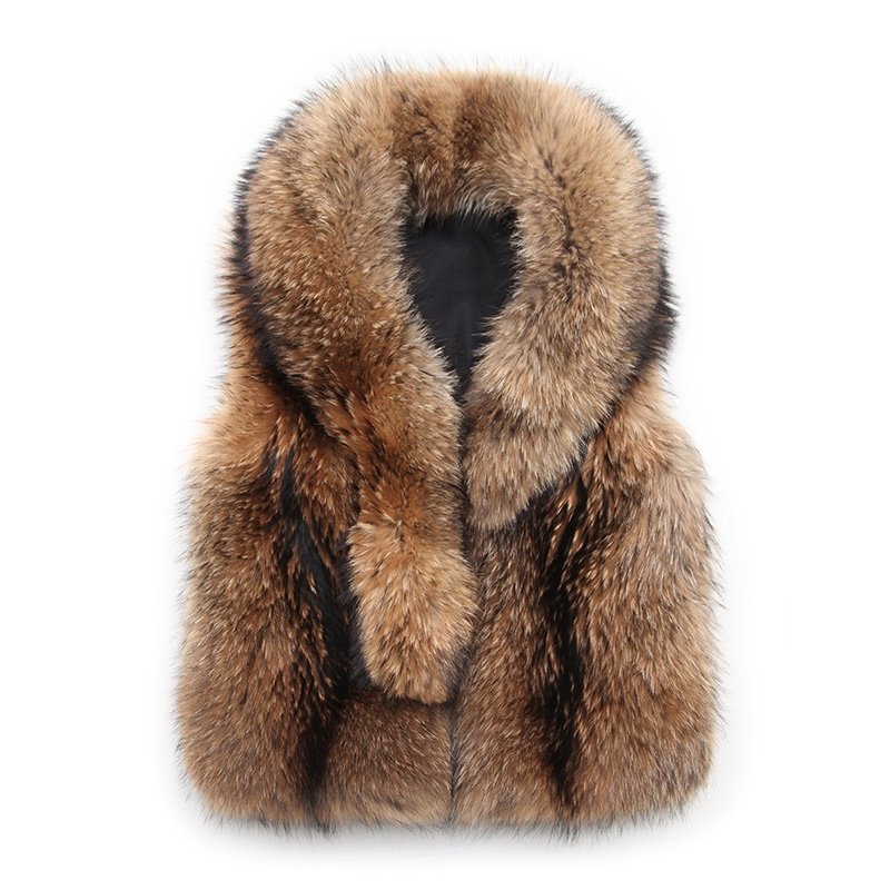 Raccoon Fur Vest 398-16