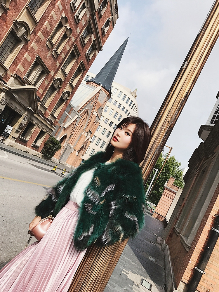Fox Fur Jacket 794-13