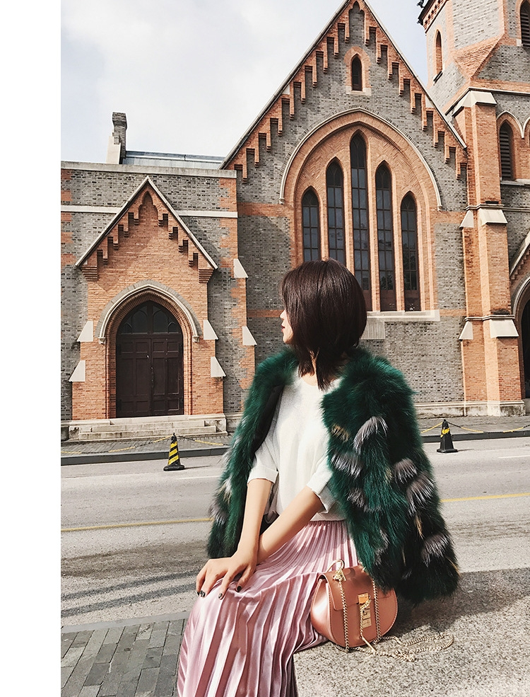Fox Fur Jacket 794-15