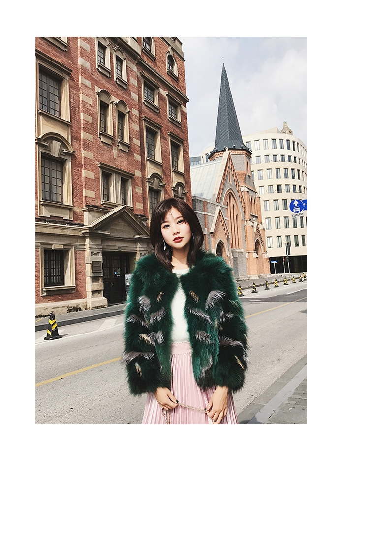 Fox Fur Jacket 794-17