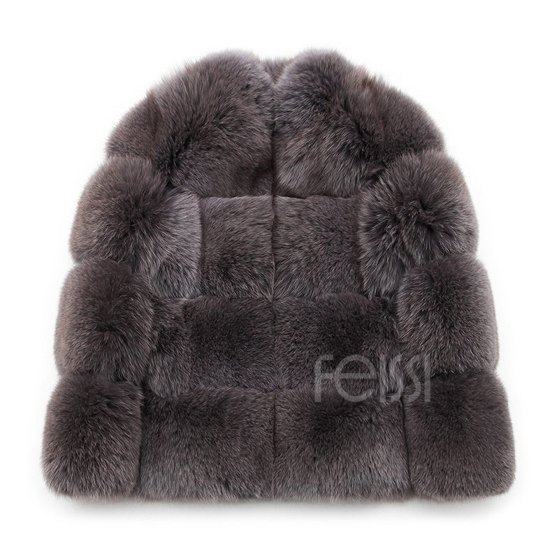 Fox Fur Coat 883b Details 17