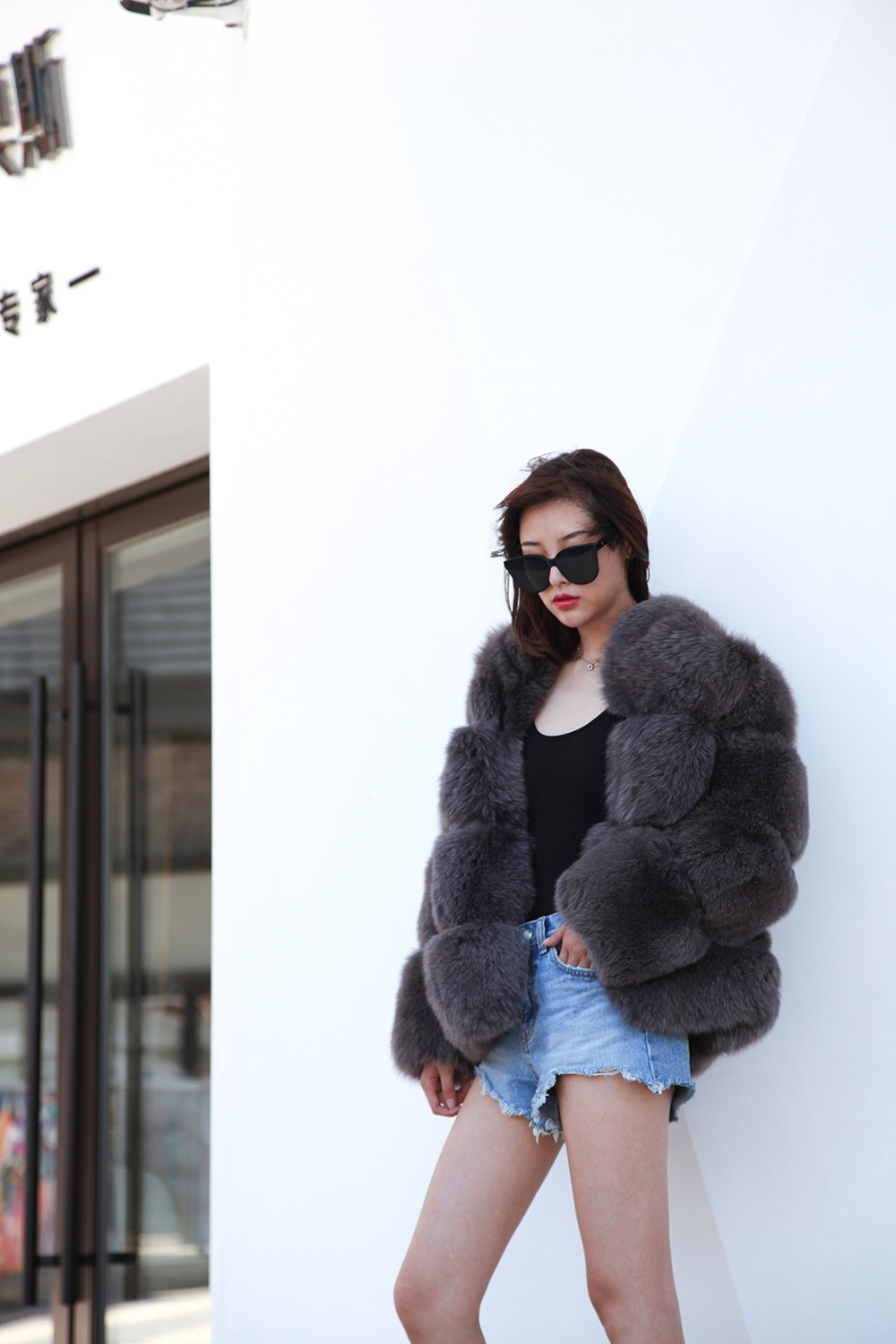 Fox Fur Coat 883b Details 2