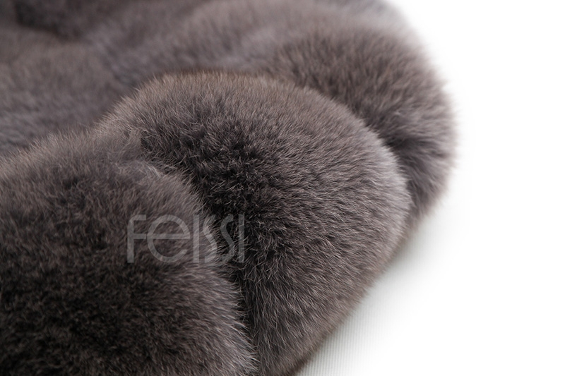 Fox Fur Coat 883b Details 20