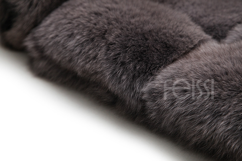 Fox Fur Coat 883b Details 23